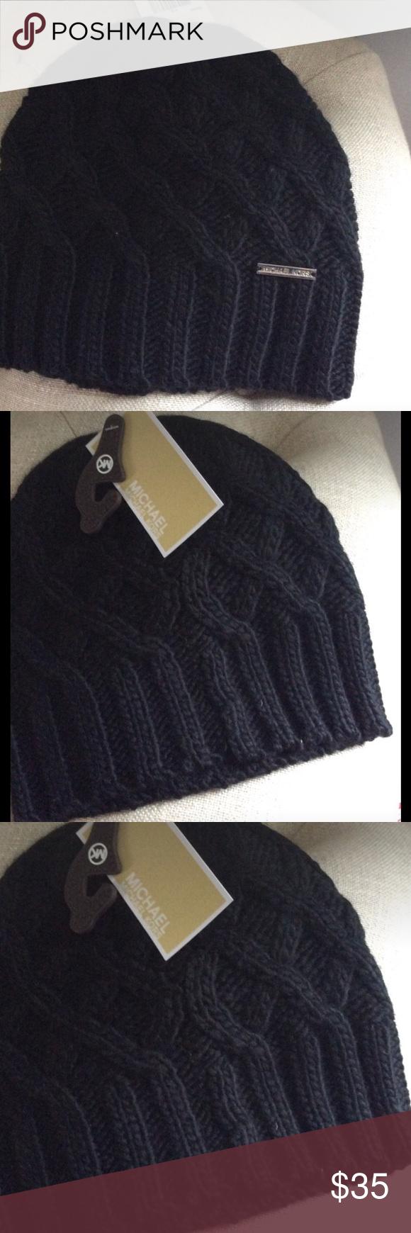 92e061af Michael Kors Winter Hat With Brim
