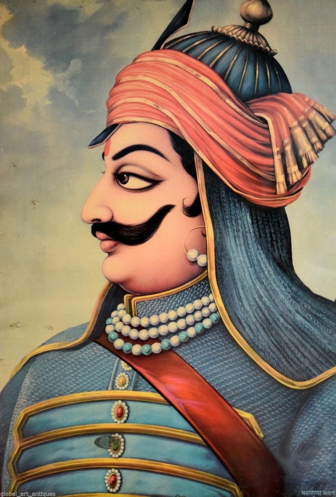 Maharana Pratap Indian Legends Indian Women Painting Freedom Fighters Of India