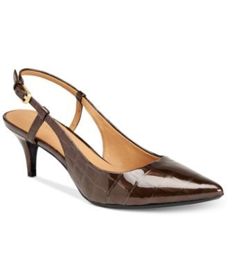 d47c7767386 Calvin Klein Patsi Slingback Pumps  69.30 Add this pretty pointed style to  your wear to work collection and you won t regret it. The Patsy slingback  pumps ...