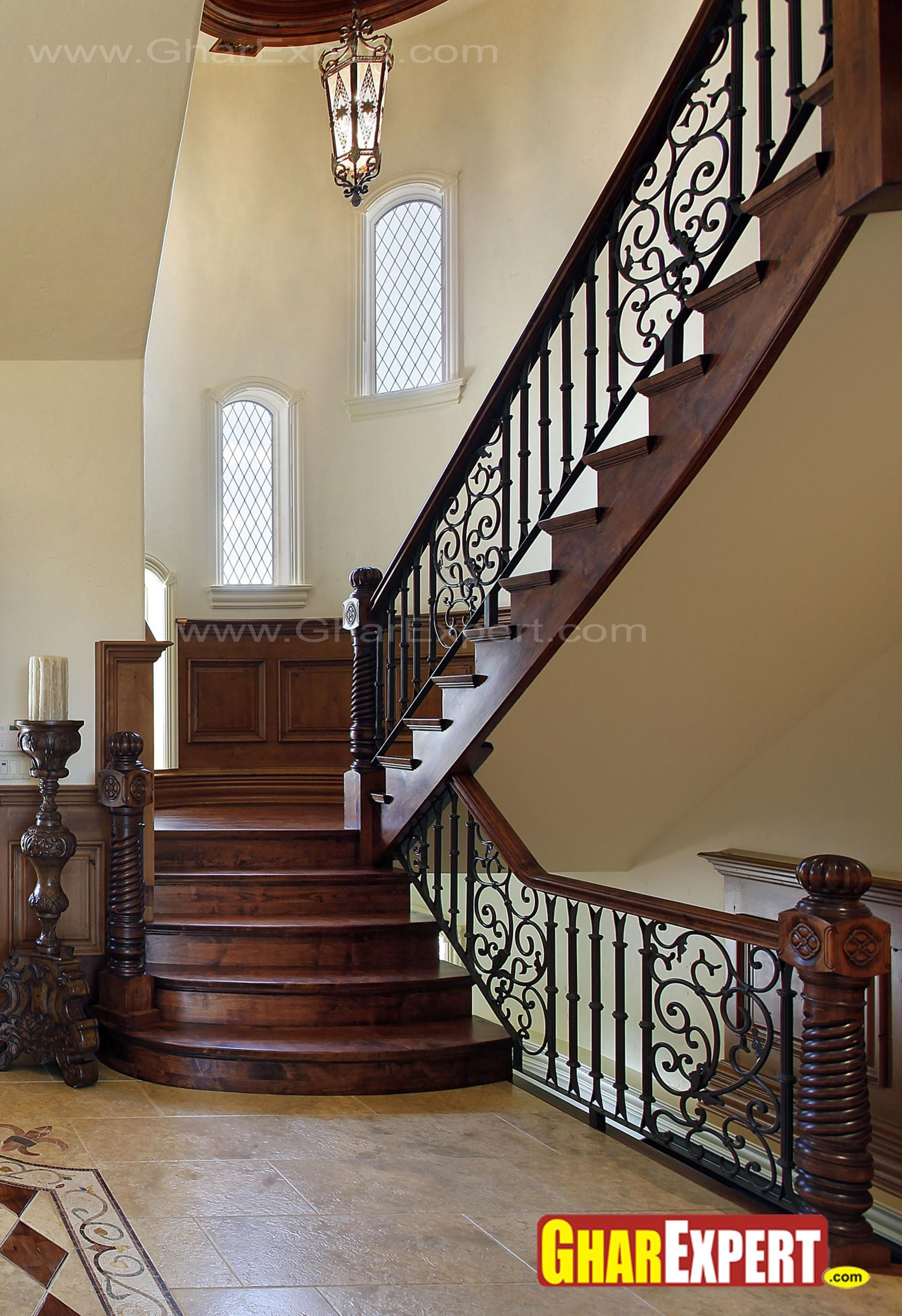 Best Wood Staircase Railing Designs Google Search Diy Stair 400 x 300