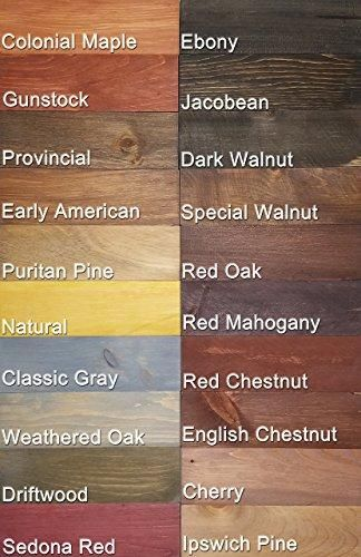 Shiplap Stain Samples Stained Shiplap Wood Stain Colors