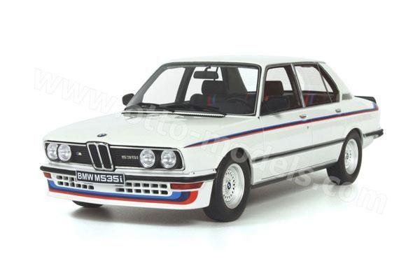 OttO: 1980 BMW M 535i (E12) - White (266) in 1:18 scale | Pinterest ...