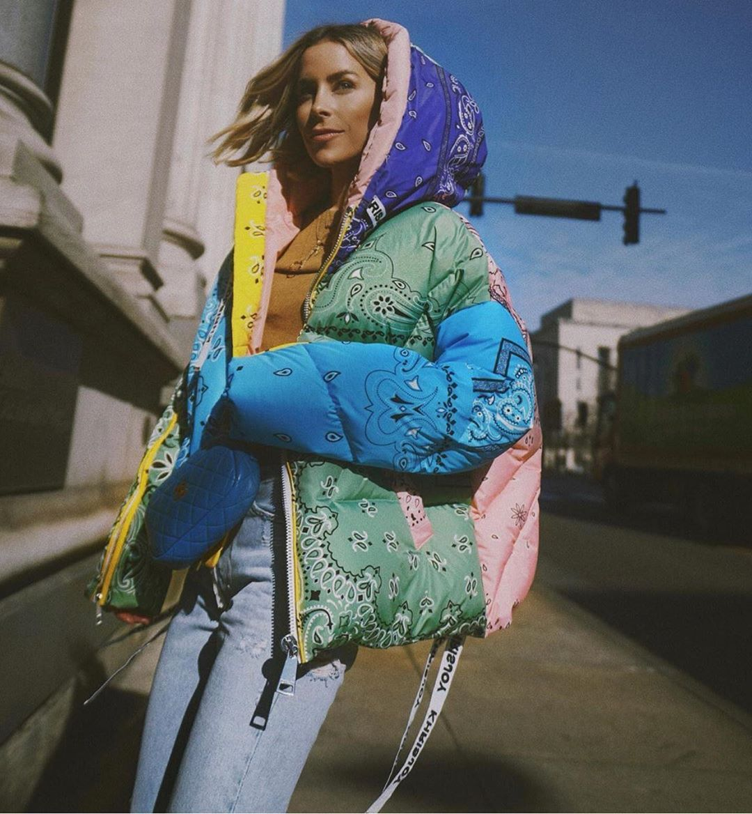 Khrisjoy S Instagram Profile Post Multicolor Bandana Jacket Marylawlesslee Khrisjoy Official Bandanajacket Bandana Outfit Streetwear Fashion Love Fashion [ 1168 x 1080 Pixel ]