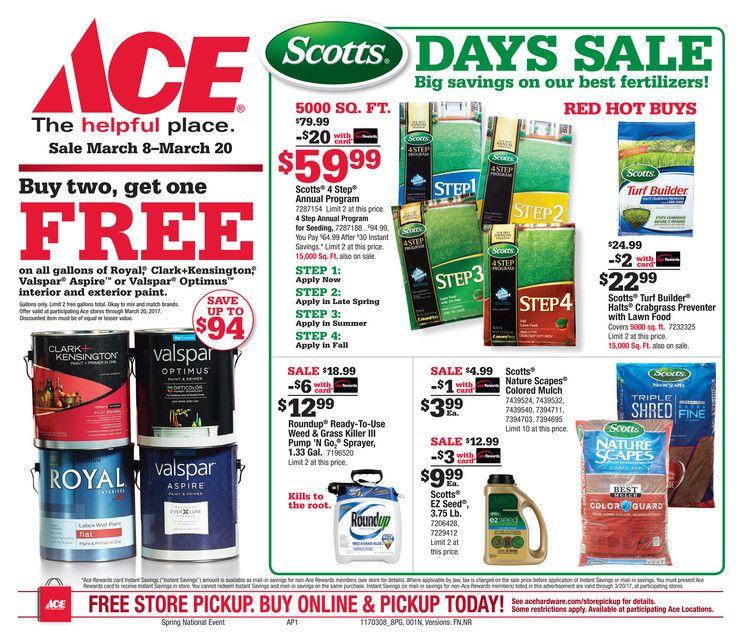 Ace hardware holiday gift guide catalog november 1