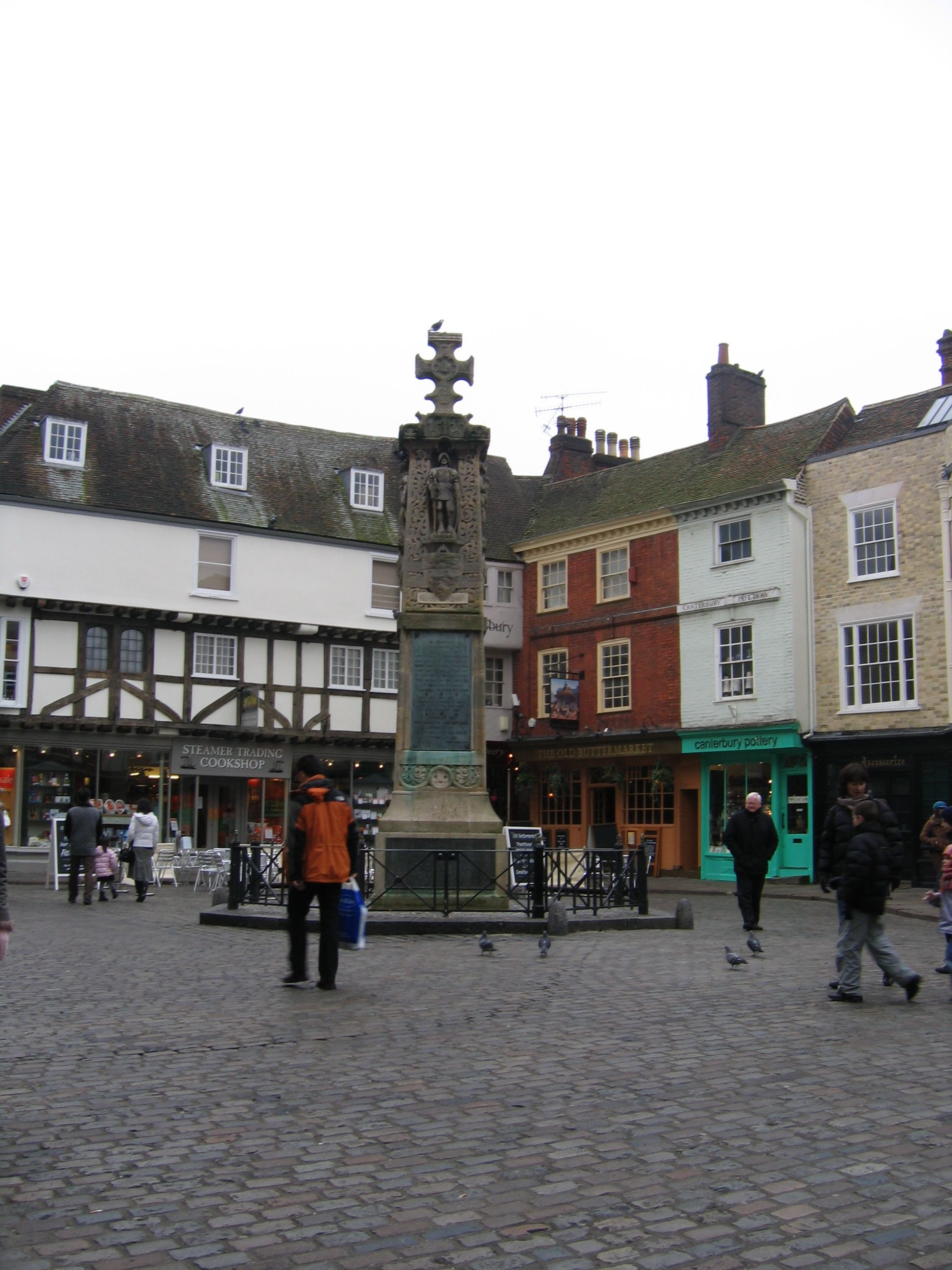 Canterbury town centre, England. | Places on the Map ... on city map of edinburgh, city map of abbotsford, city map of bexley, city map of lindisfarne, city map of leominster, city map of glasgow,