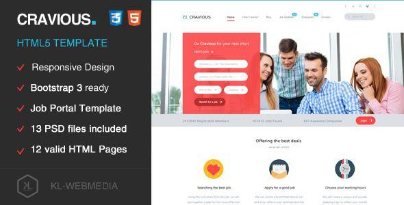 Cravious job portal html5 template template website themes and corporate business cravious job portal html5 template accmission Choice Image