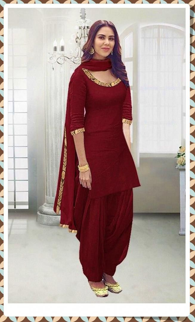 Want To Know About The Best New Style Punjabi Salwar Suit Including Things Like Indian Punjabi Suits Punj Patiyala Dress Punjabi Outfits Patiala Suit Designs