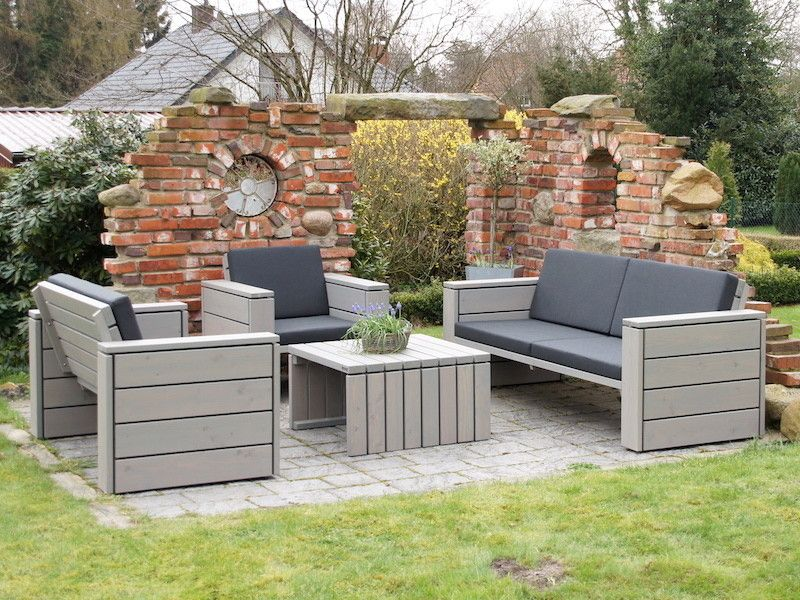 Loungemöbel aus Holz - Made in Germany - Holzweise Loungemöbel