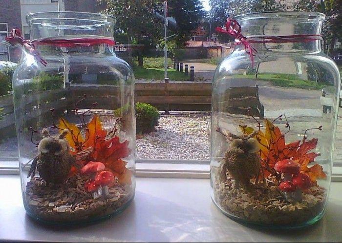 Herfst in huis halen herfst decoratie