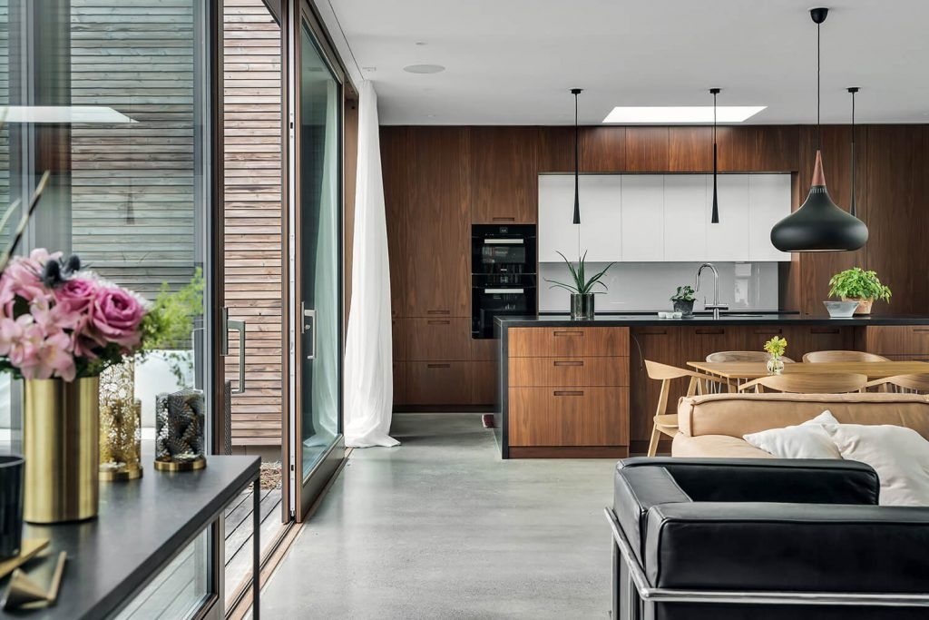 Une maison d'architecte en bois Kebony | Maison bois, Maison darchitecte et Maison
