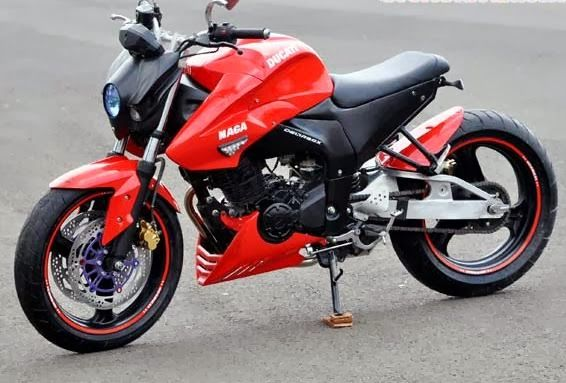 kumpulan modifikasi yamaha byson street fighter