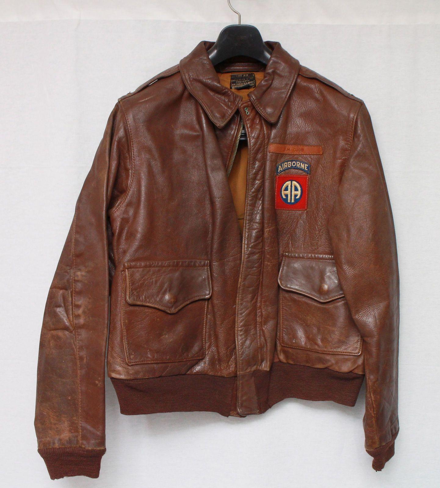 Original Aero A 2 Leather Flight Jacket Jackets Flight Jacket [ 1600 x 1442 Pixel ]