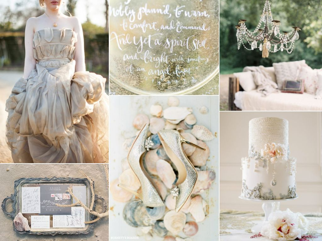 How to Use Metallics in Your Wedding Decorations photo