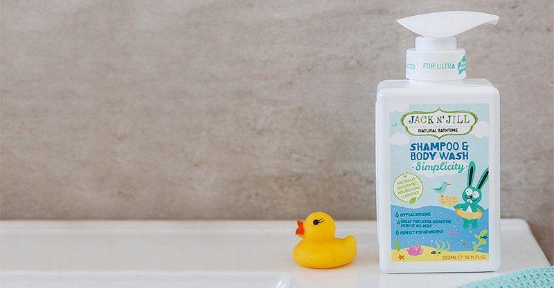 Splish, splash! All natural bath time fun with Jack N