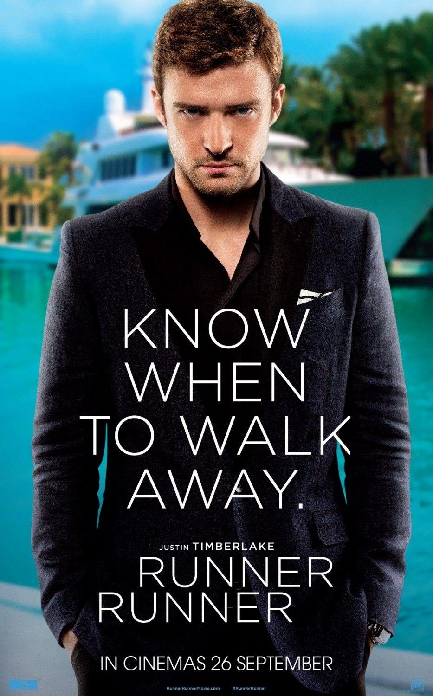 Runner Runner Character Posters Beautiful People And Not Much More Justin Timberlake Timberlake Runner Runner Movie