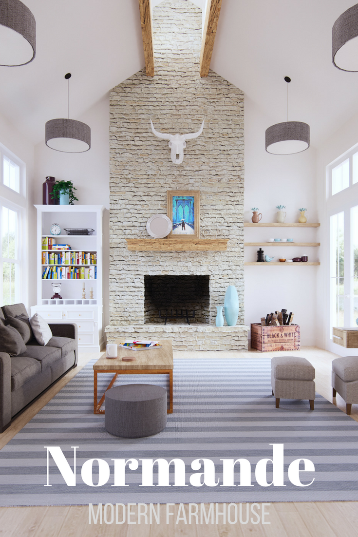 17+ Modern farmhouse with vaulted great room ideas in 2021