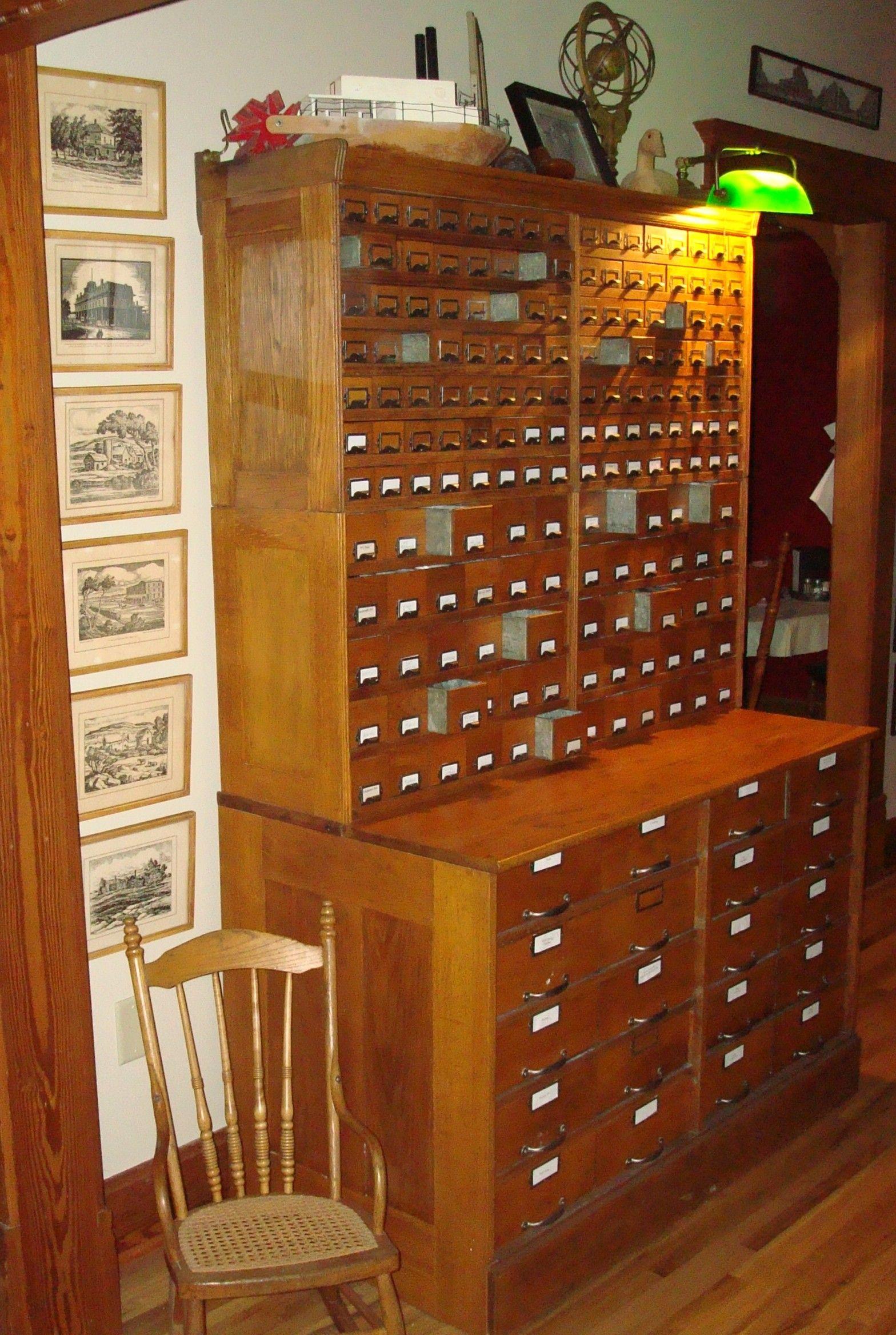 Antique bolt Cabinet - I love drawers! | Likes | Pinterest ...