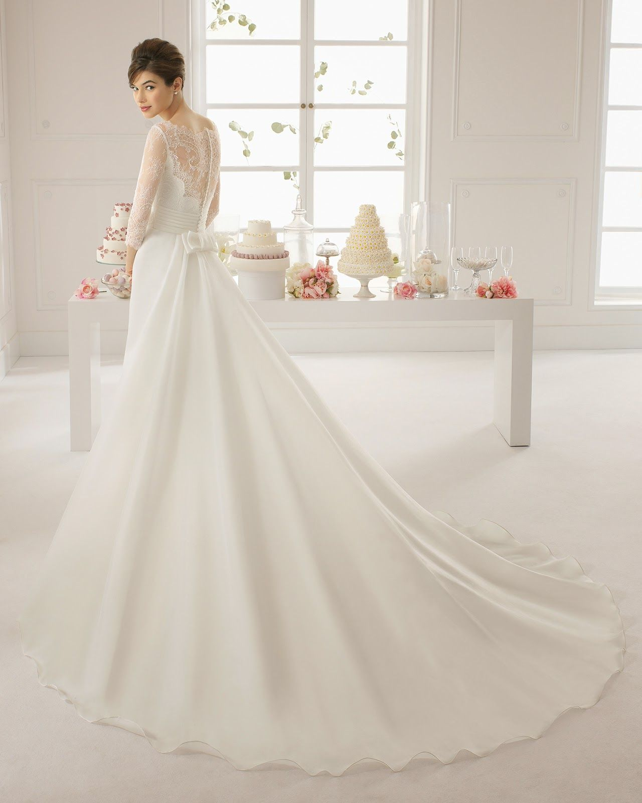 vestidos de novia de manga larga ends pinterest