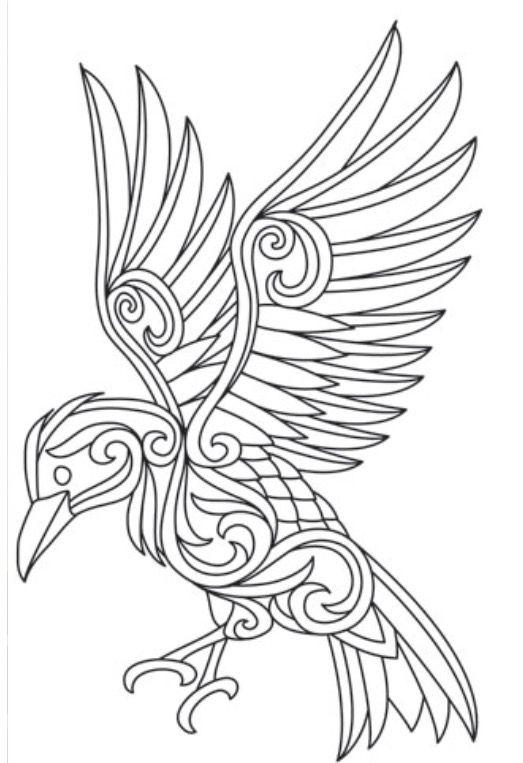 Dragon Nouveau Free Printable Coloring Pages