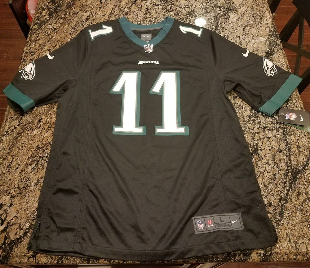 Nike Carson Wentz Philadelphia Eagles Jersey On Field Mens L RARE 479428  039 New  Nike  PhiladelphiaEagles 008d3fffe