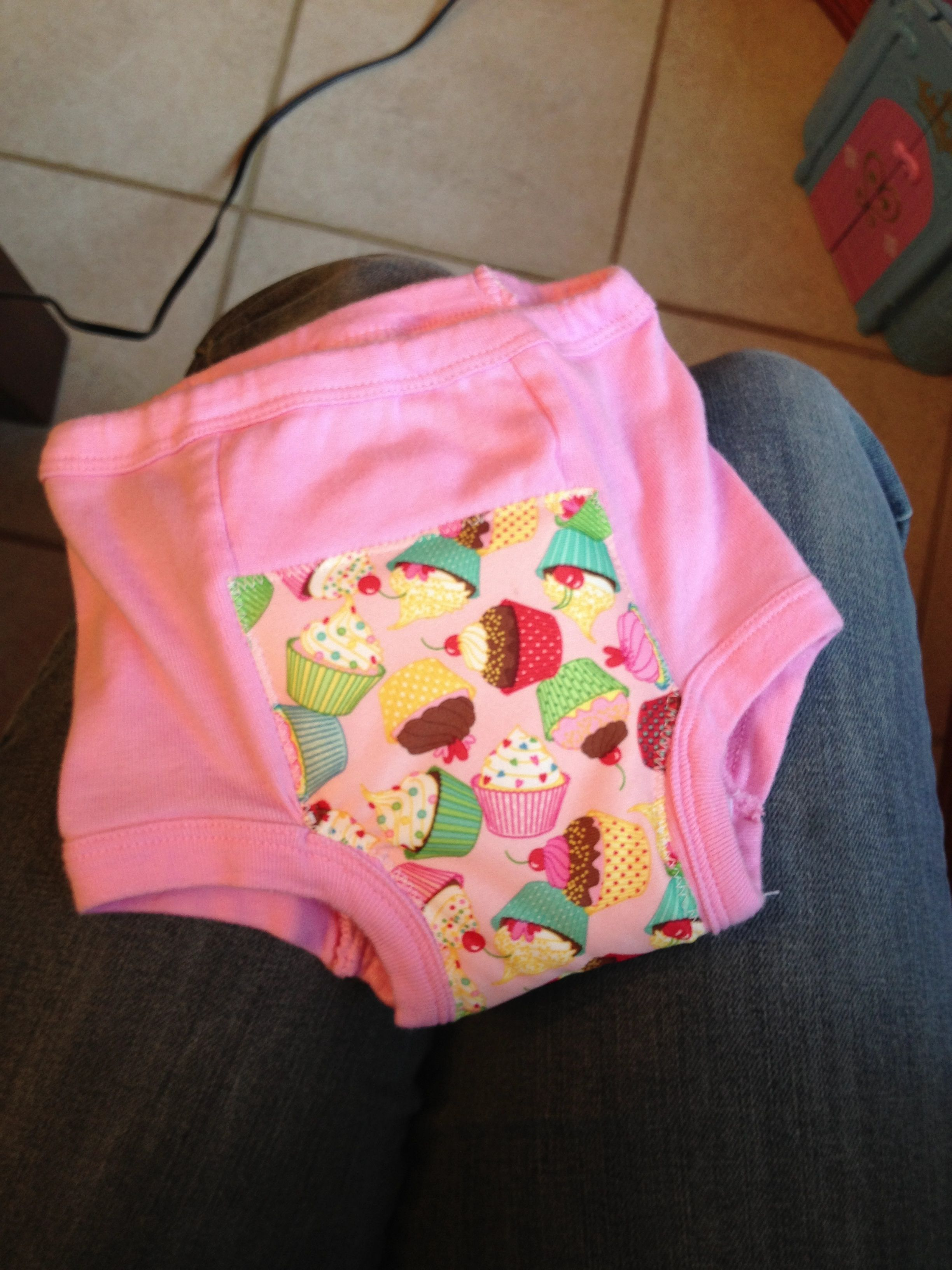 Re Enforced My Daughter S Training Panties With Babyville Fabric