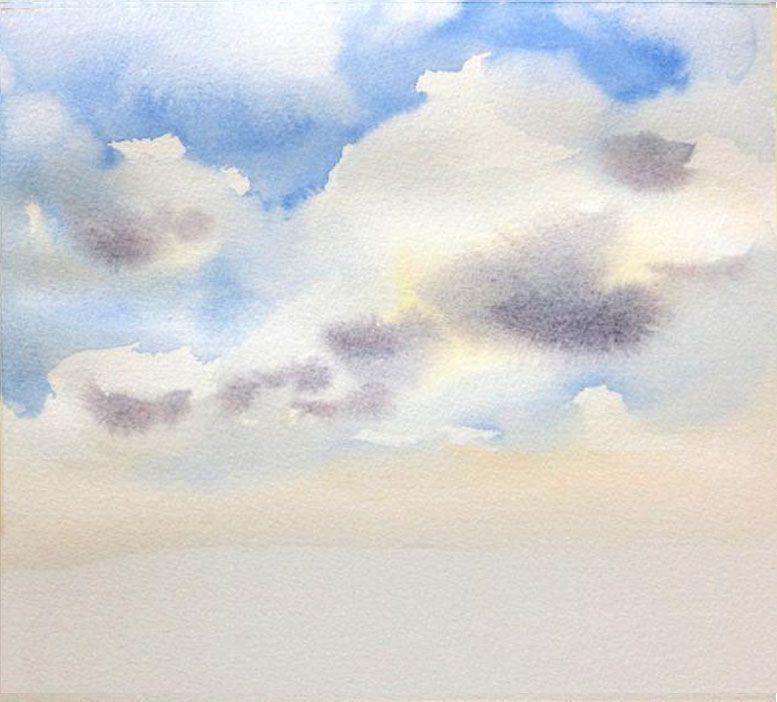 картинки я рисую тебя акварелью небес для