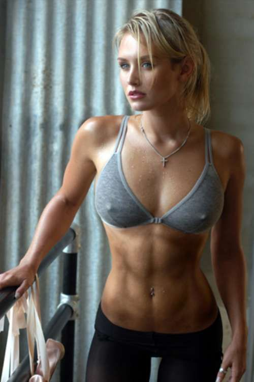 hottest gym girl