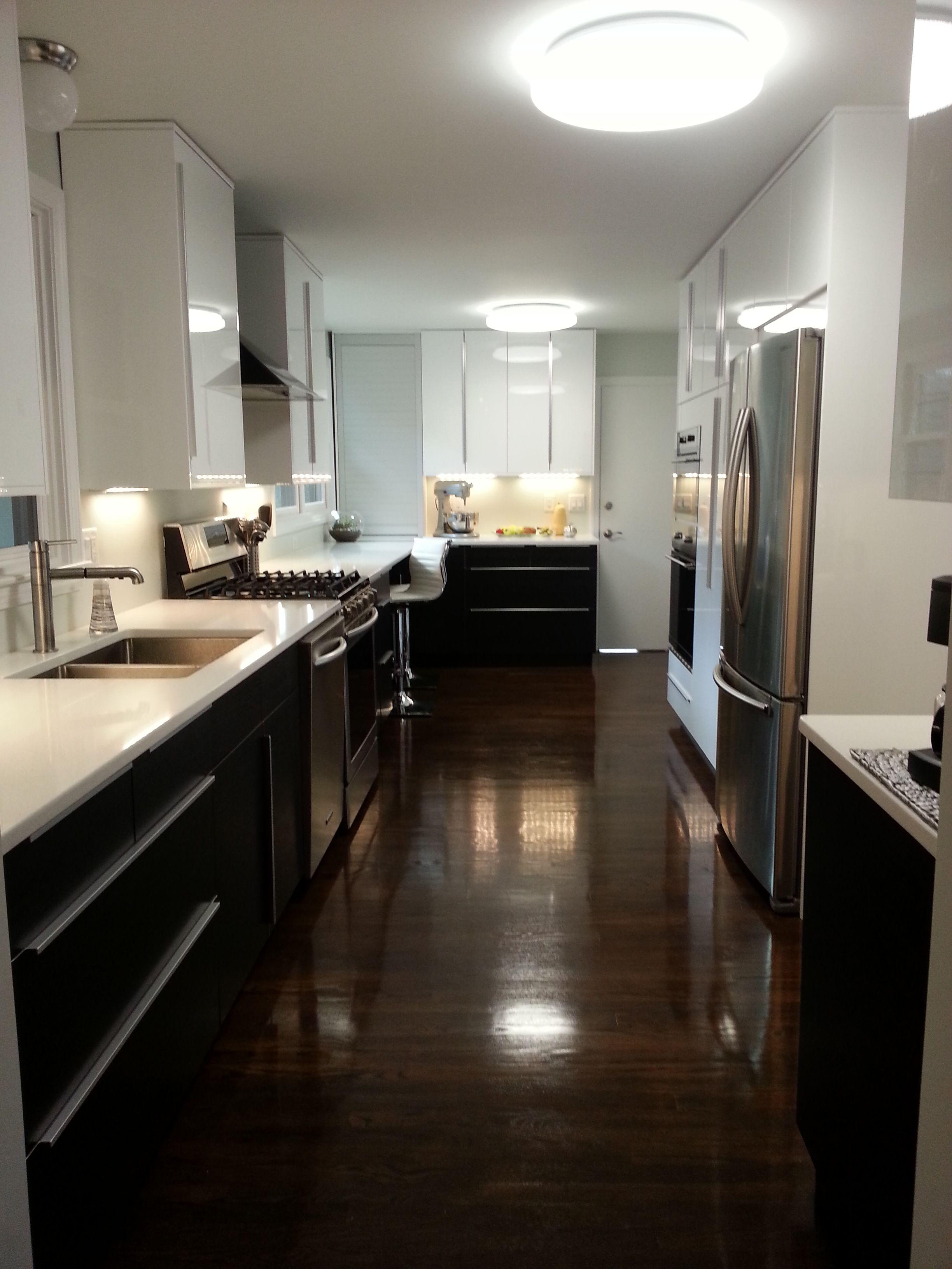 Ringhult white with blankett handles my ikea kitchen - Kitchen cabinet interior hardware ...