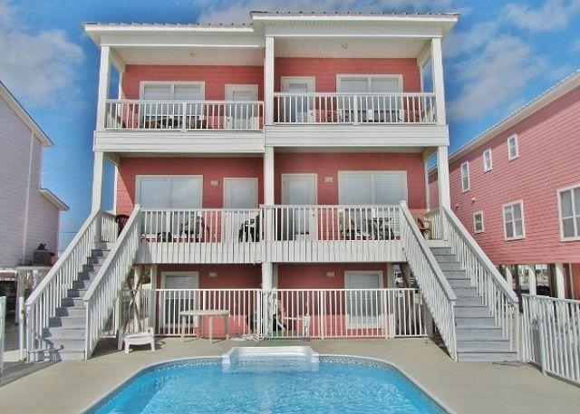 Gulffront Beach House Gulf Shores Private Pool Pool Houses Gulf Shores Shore House