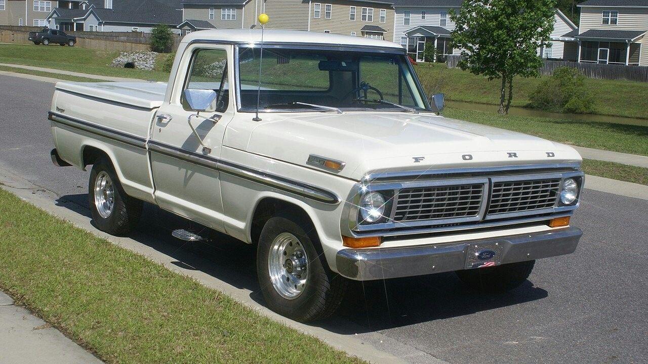F 100 70 Ford Pickup Classic Ford Trucks Ford Trucks