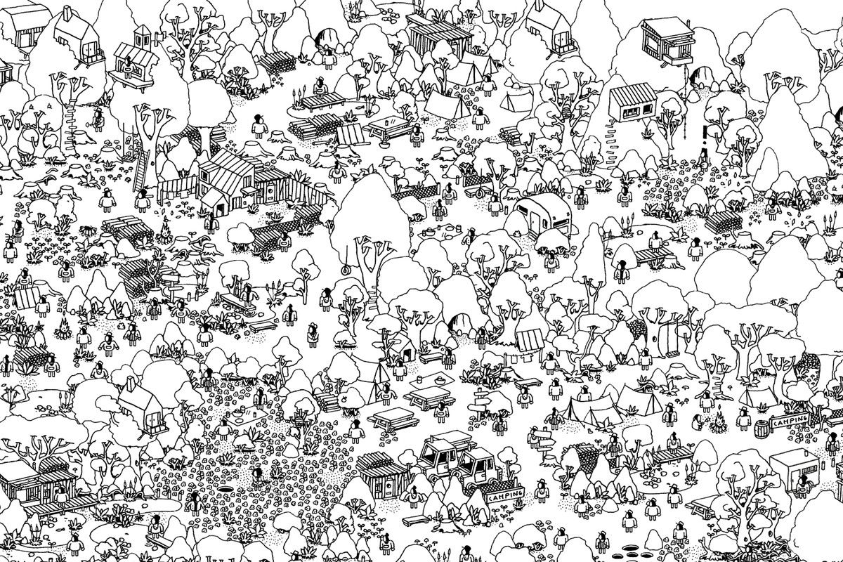 Image Result For Where S Waldo Wheres Waldo Coloring Pages Hidden Pictures