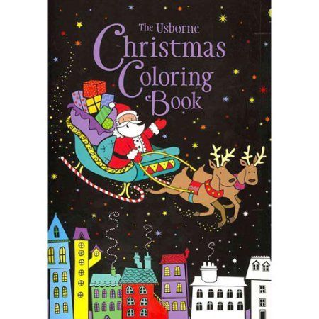 The Usborne Christmas Coloring Book