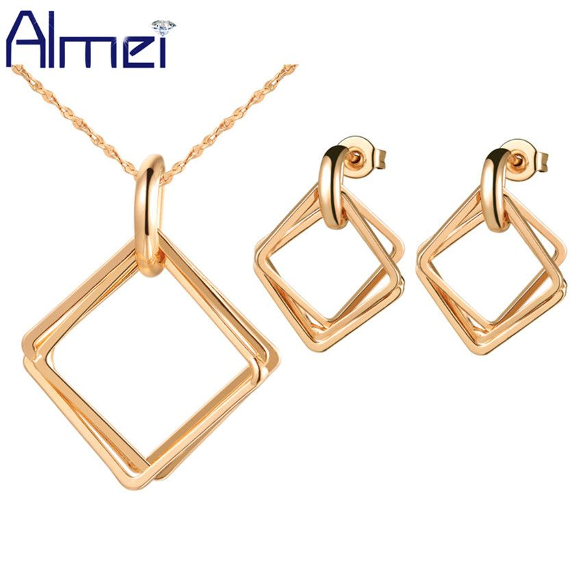 Find More Jewelry Sets Information about Almei 35 Off Bridal Square