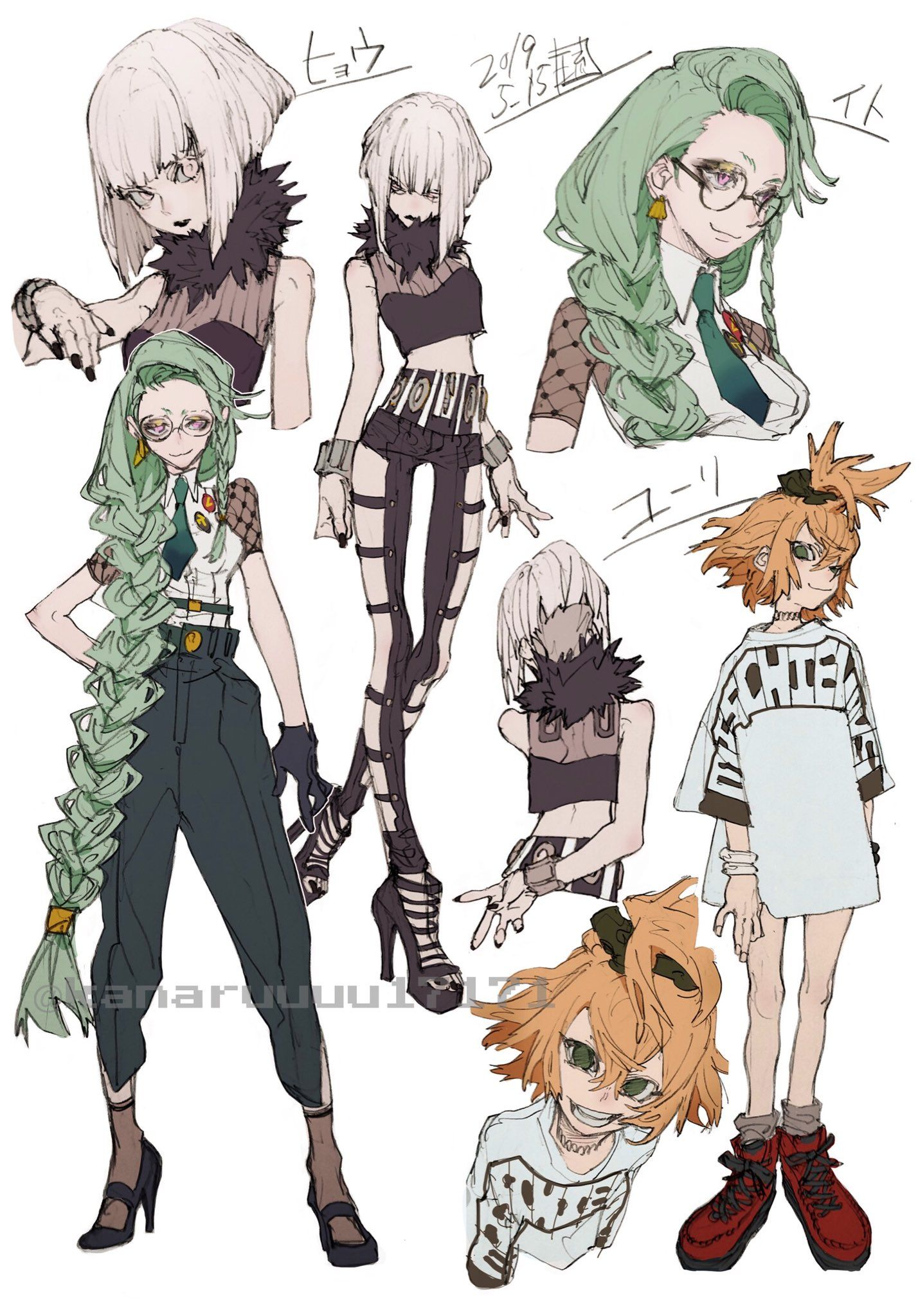 Kana琉 On Twitter Anime Character Design Character Art Character Design Inspiration