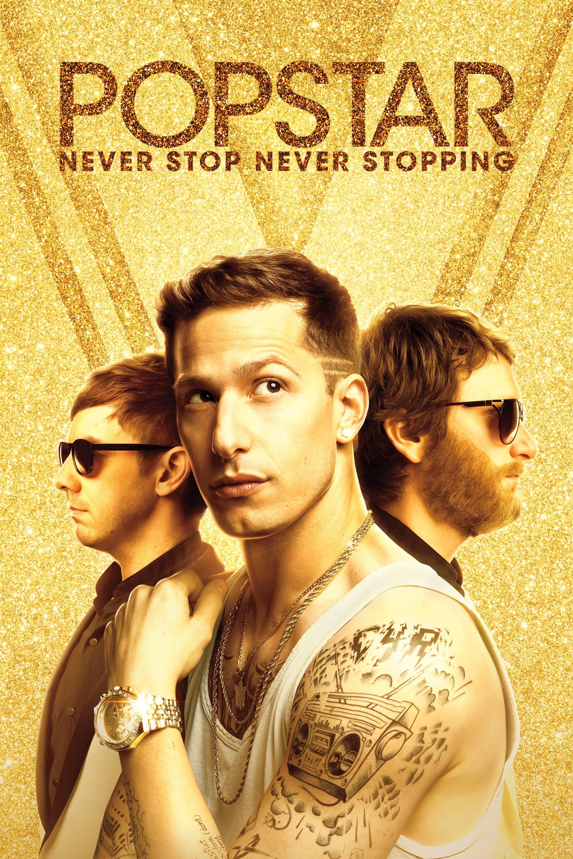 Popstar: Never Stop Never Stopping Movie Poster - Andy Samberg, Jorma Taccone, Akiva Schaffer  #Popstar, #NeverStopNeverStopping, #AndySamberg, #JormaTaccone, #AkivaSchaffer, #Comedy, #Art, #Film, #Movie, #Poster