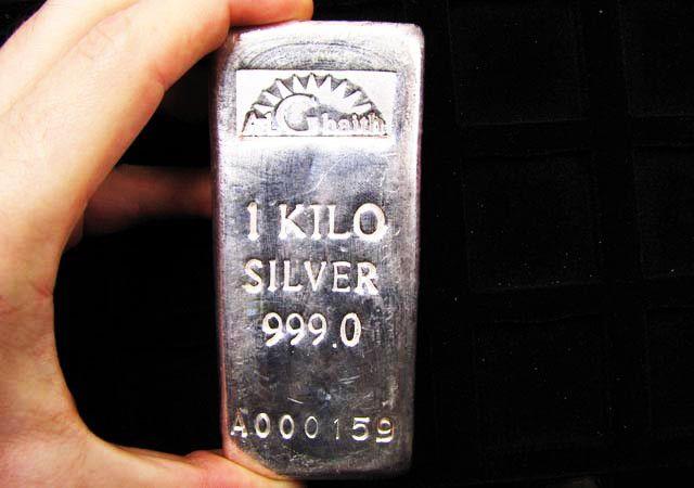 One Kilo Silver 9999 Alghaith Silver Bar Silver Bars Silver Bullion Coins Silver