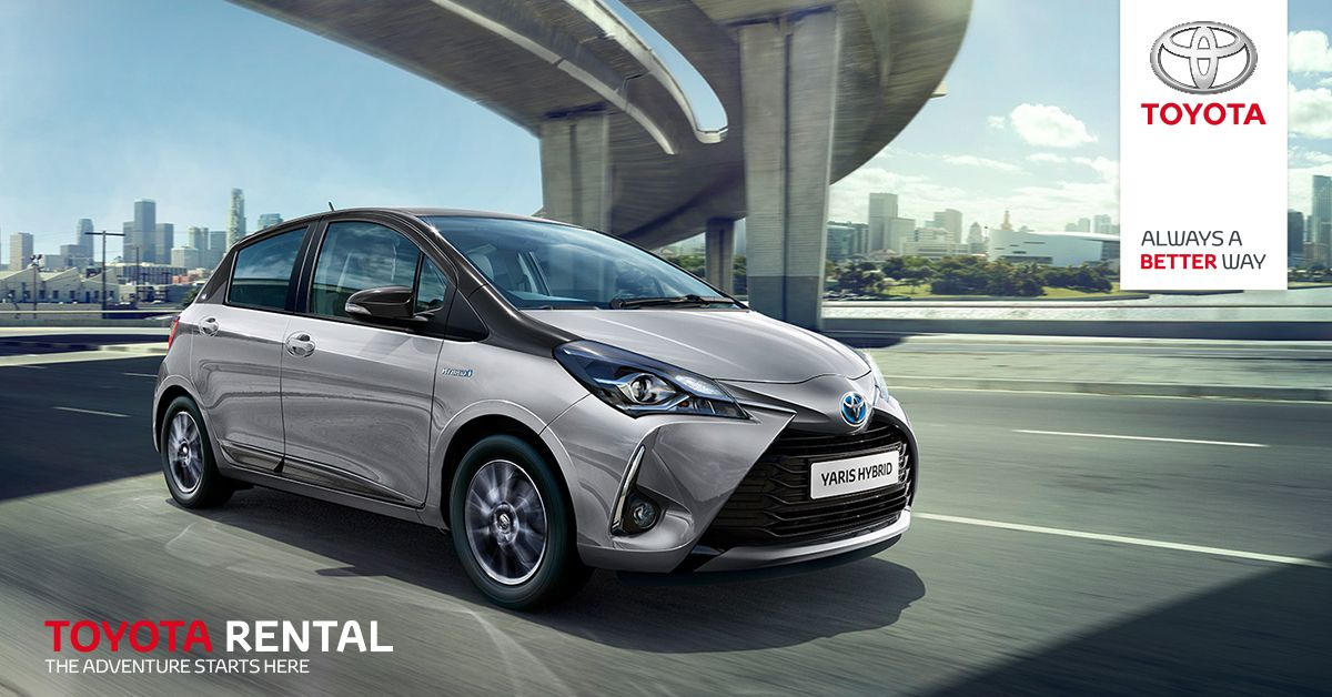 Toyota Yaris Hybrid Just 22 Per Day Whatever Your Rental Needs