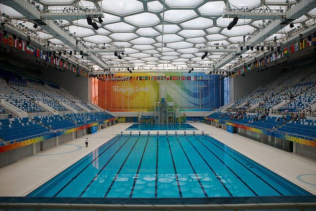 Incroyable 2008 Olympic Swimming Pool! WOW! :D