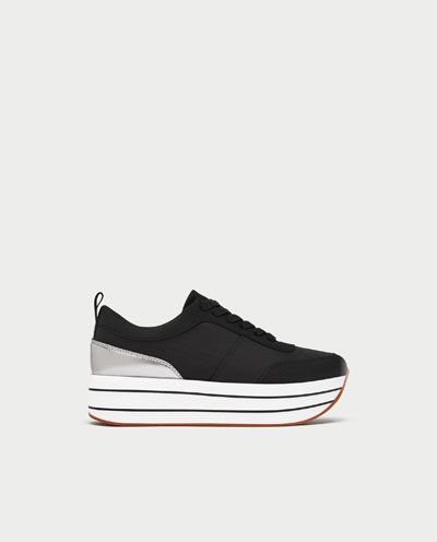 491d032a PLATFORM SNEAKERS-View all-SHOES-WOMAN | ZARA Hungary | My Style in ...