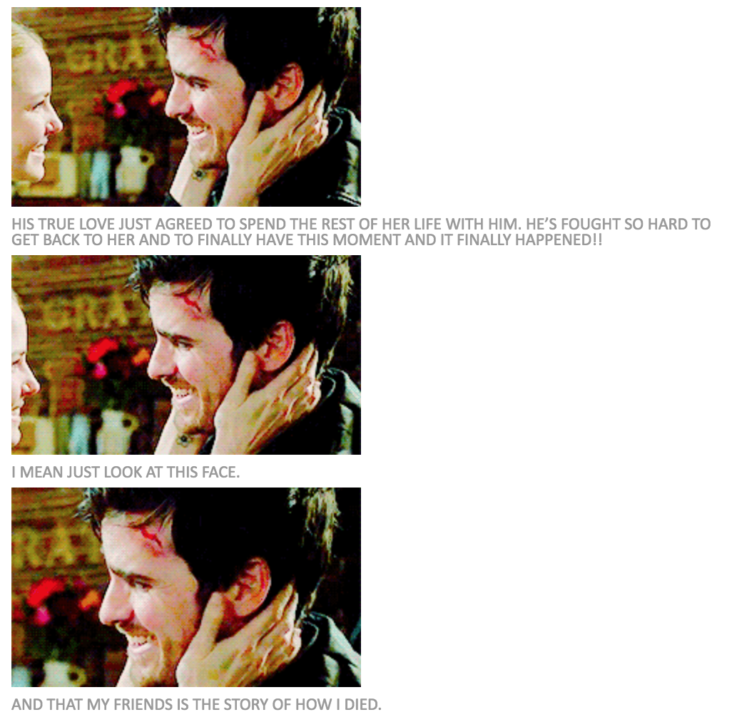 Proposal 2.0 - Killian's happiness!!!! :D