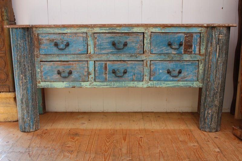 Anrichte Badezimmer ~ Sideboard gefertigt aus alten hölzern von wood art ms auf dawanda