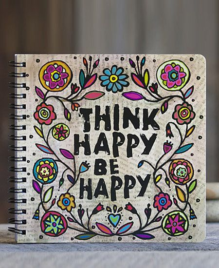 think happy be happy journal