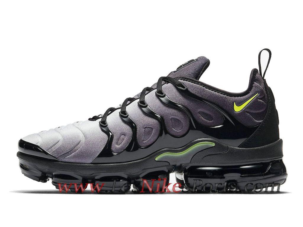 hot sale online 953ae f1346 Running Nike Air VaporMax Plus Chaussures Nike Tn Pas Cher Pour Homme Noir  Vert 924453-009 - 1809050288 - Le Nike Officiel Site. LesNikeSports.com (FR)