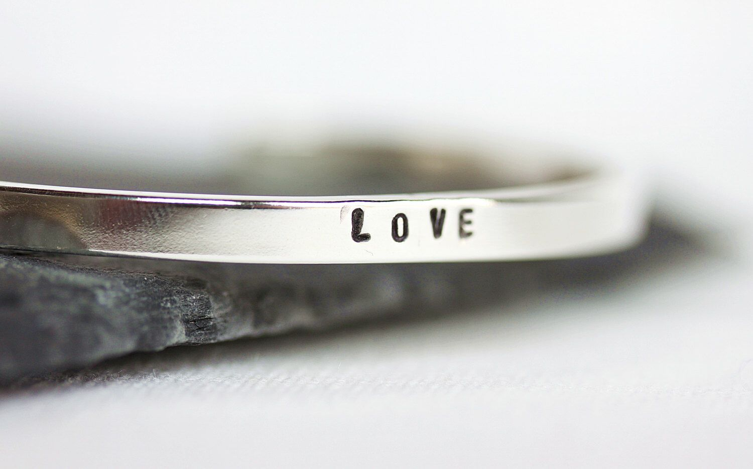 Personalized Sterling Silver Cuff Bracelet,Handstampe Your message,Adjustable Cuff,Mother's day Gift,Love message,Stacking Bracelet,Keepsake by MakiYDesign on Etsy https://www.etsy.com/listing/179511445/personalized-sterling-silver-cuff