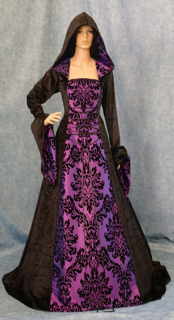 gothic dress medieval dress renaissance dress door camelotcostumes ...