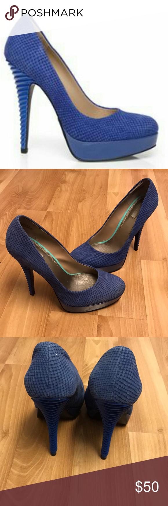 RACHEL Rachel Roy Shoes | Rachel Roy Kamaria Blue Python