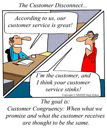 meet and exceed customer expectations