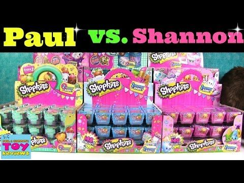 Shopkins surprise kids mystery toy surprise party gift fun rubbers party bags