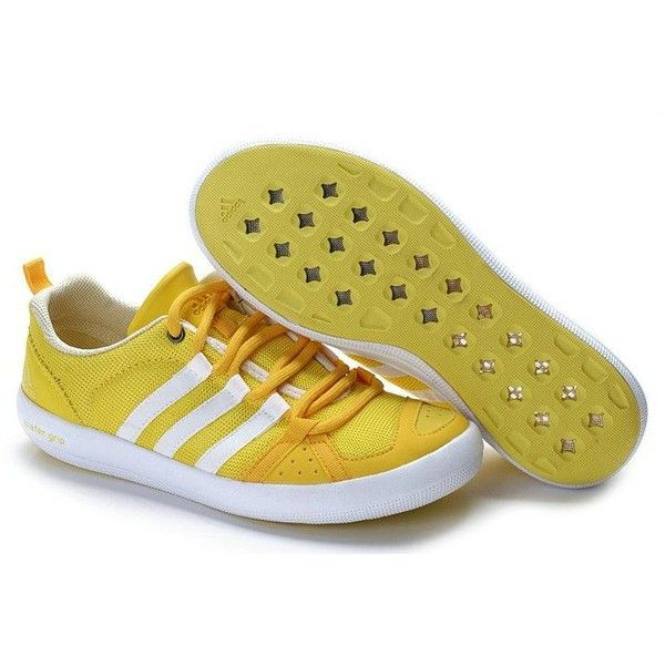 Women Adidas Water Grip Yellow White Shoes Women Adidas Water Grip Yellow White Shoes [Women Adidas Water Grip Yellow White Shoes] - $75.00 : Adidas water grip,Nike Gladiator Sandals Online Hot Sale found on Polyvore