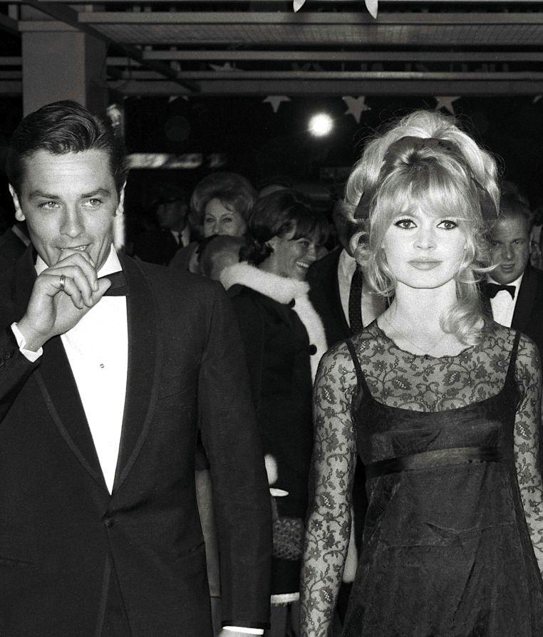 Alain Delon And Brigitte Bardot Mexico City 1965 Brigitte